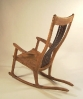 Elm Rocker with Peru Slats
